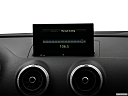 2018 Audi A3 Premium 2.0 TFSI, closeup of radio head unit