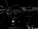 "2018 Audi A3 Premium 2.0 TFSI, centered wide dash shot - ""night"" shot."