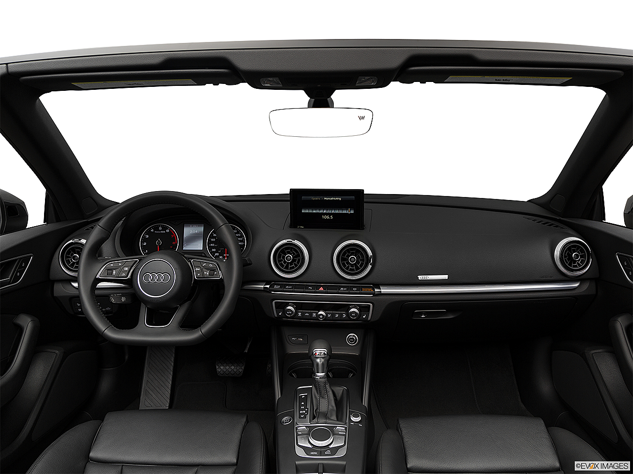 2018 Audi A3 Premium Plus 2.0 TFSI, centered wide dash shot