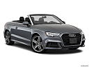 2018 Audi A3 Premium Plus 2.0 TFSI, front passenger 3/4 w/ wheels turned.