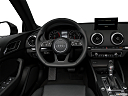 2018 Audi A3 Premium Plus 2.0 TFSI, steering wheel/center console.