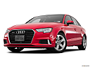 2018 Audi A3 Premium 2.0 TFSI, front angle view, low wide perspective.
