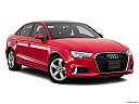 2018 Audi A3 Premium 2.0 TFSI, front passenger 3/4 w/ wheels turned.