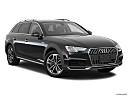 2018 Audi A4 allroad Premium 2.0 TFSI, front passenger 3/4 w/ wheels turned.