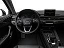 2018 Audi A4 allroad Premium 2.0 TFSI, steering wheel/center console.