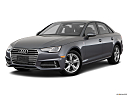 2018 Audi A4 Premium 2.0 TFSI ultra, front angle medium view.