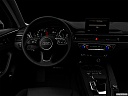 "2018 Audi A4 Premium 2.0 TFSI ultra, centered wide dash shot - ""night"" shot."