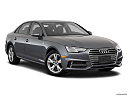 2018 Audi A4 Premium 2.0 TFSI ultra, front passenger 3/4 w/ wheels turned.