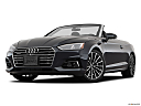 2018 Audi A5 Prestige 2.0 TFSI, front angle view, low wide perspective.