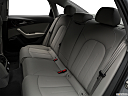 2018 Audi A6 Premium Plus 2.0 TFSI, rear seats from drivers side.