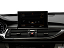 2018 Audi A6 Premium Plus 2.0 TFSI, closeup of radio head unit