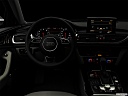 "2018 Audi A6 Premium Plus 2.0 TFSI, centered wide dash shot - ""night"" shot."