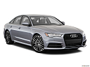 2018 Audi A6 Premium Plus 2.0 TFSI, front passenger 3/4 w/ wheels turned.