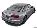 2018 Audi A6 Premium Plus 2.0 TFSI, rear 3/4 angle view.