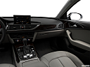 2018 Audi A6 Premium Plus 2.0 TFSI, center console/passenger side.