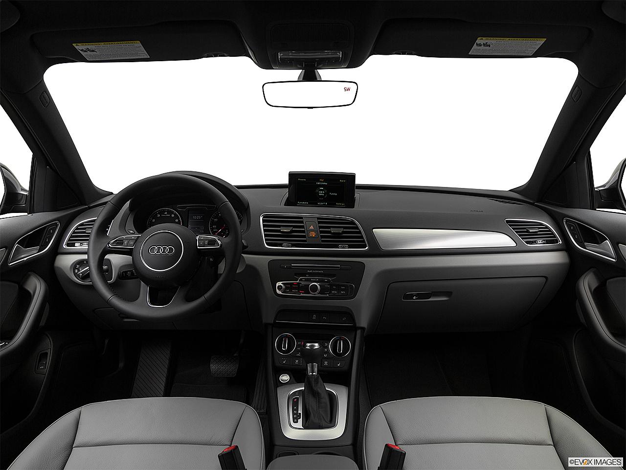 2018 Audi Q3 Premium 2 0 Tfsi Centered Wide Dash Shot