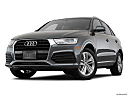 2018 Audi Q3 Premium 2.0 TFSI, front angle view, low wide perspective.