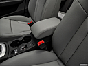 2018 Audi Q3 Premium 2.0 TFSI, front center console with closed lid, from driver's side looking down