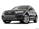 2018 Audi Q5 Premium Plus 2.0 TFSI, front angle view, low wide perspective.