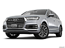 2018 Audi Q7 Premium Plus 3.0 TFSI, front angle view, low wide perspective.