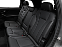 2018 Audi Q7 Prestige 3.0 TFSI, rear seats from drivers side.