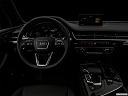 "2018 Audi Q7 Prestige 3.0 TFSI, centered wide dash shot - ""night"" shot."