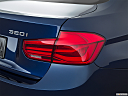 2018 BMW 3-series 320i, passenger side taillight.