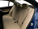 2018 BMW 3-series 320i, rear seats from drivers side.