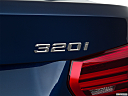 2018 BMW 3-series 320i, rear model badge/emblem