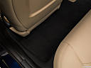 2018 BMW 3-series 320i, rear driver's side floor mat. mid-seat level from outside looking in.