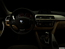 "2018 BMW 3-series 320i, centered wide dash shot - ""night"" shot."