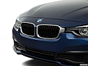 2018 BMW 3-series 320i, close up of grill.