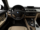 2018 BMW 3-series 320i, steering wheel/center console.