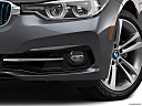 2018 BMW 3-series 330e iPerformance, driver's side fog lamp.