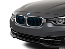 2018 BMW 3-series 330e iPerformance, close up of grill.