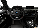 2018 BMW 3-series 330e iPerformance, steering wheel/center console.