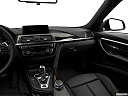 2018 BMW 3-series 330e iPerformance, center console/passenger side.