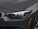 2018 BMW 4-series 430i, drivers side headlight.