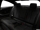 2018 BMW 4-series 430i, rear seats from drivers side.