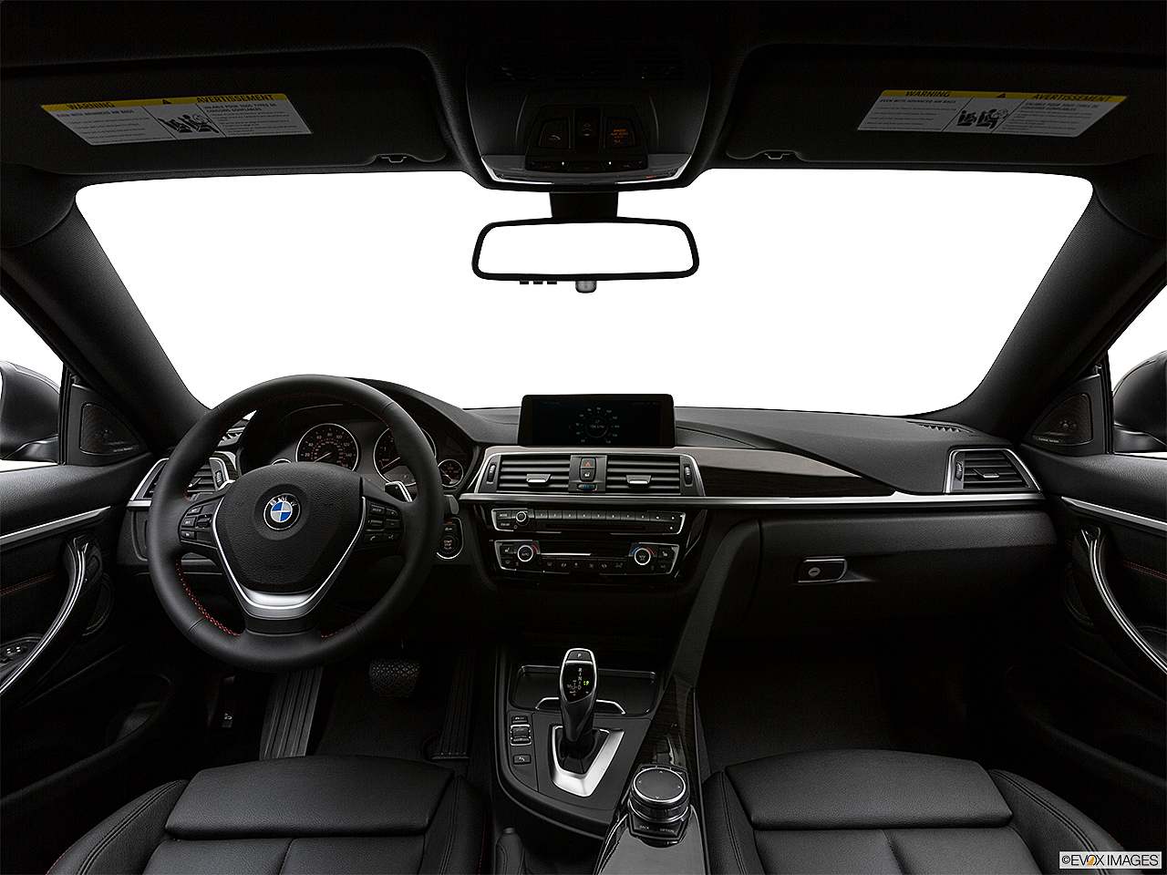 2018 BMW 4-series 430i, centered wide dash shot