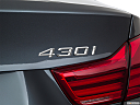 2018 BMW 4-series 430i, rear model badge/emblem