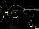 "2018 BMW 4-series 430i, centered wide dash shot - ""night"" shot."