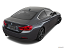 2018 BMW 4-series 430i, rear 3/4 angle view.