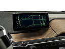 2018 BMW i3 S, driver position view of navigation system.