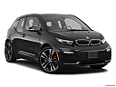 2018 BMW i3 S, front passenger 3/4 w/ wheels turned.