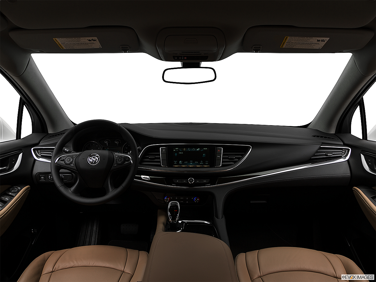 2018 Buick Enclave Essence, centered wide dash shot