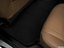 2018 Buick Enclave Essence, rear driver's side floor mat. mid-seat level from outside looking in.