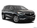 2018 Buick Enclave Premium, front passenger 3/4 w/ wheels turned.