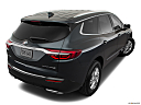 2018 Buick Enclave Premium, rear 3/4 angle view.