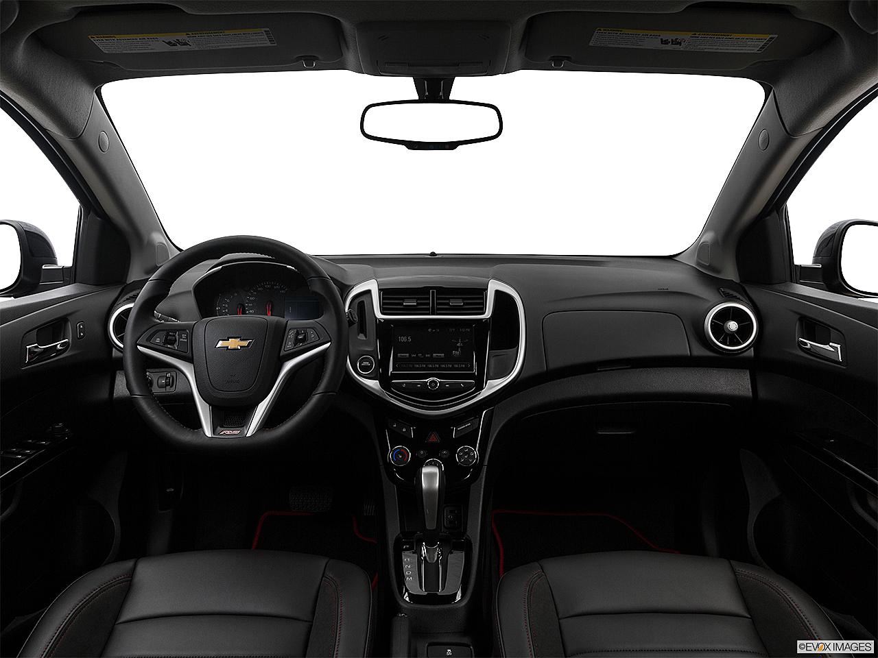 2018 Chevrolet Sonic Premier Auto 5-Door, centered wide dash shot